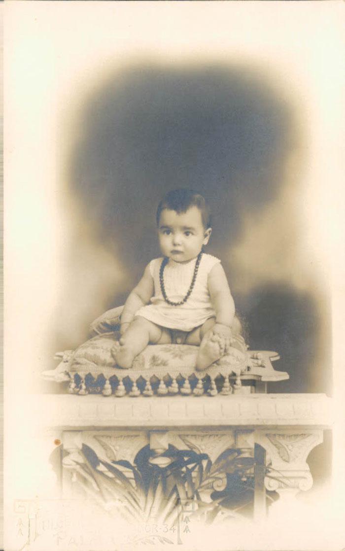 Padre de bebé – 1910