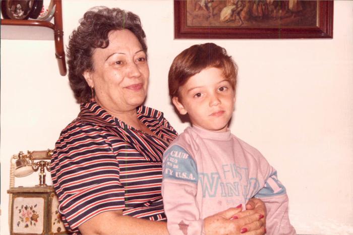 En casa con madre – 1980