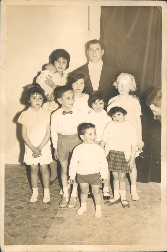 Familia, primos – 1960