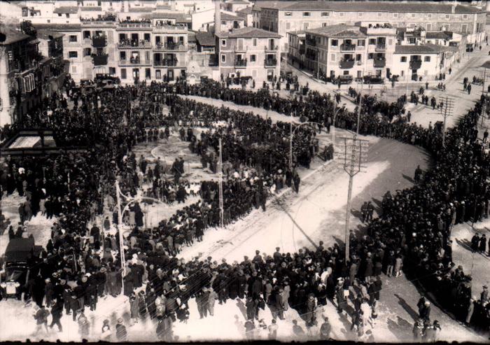 Dia de s´Arbre – Plaça Progres – 1922