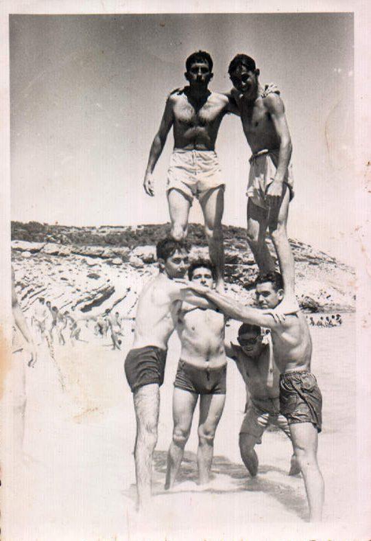 PLATJA - CASTELLERS - 1950