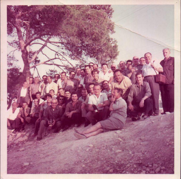 Excursió grup – 1970