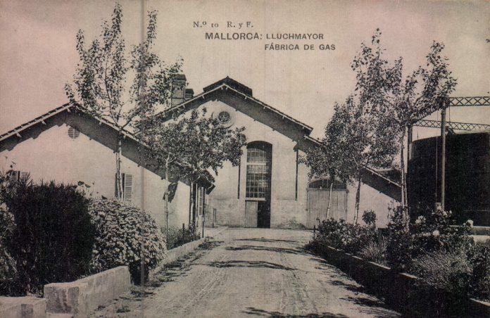 FABRICA DE GAS - 1917