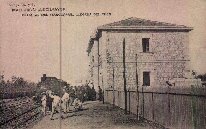 ESTACION FERROCARRIL - 1917