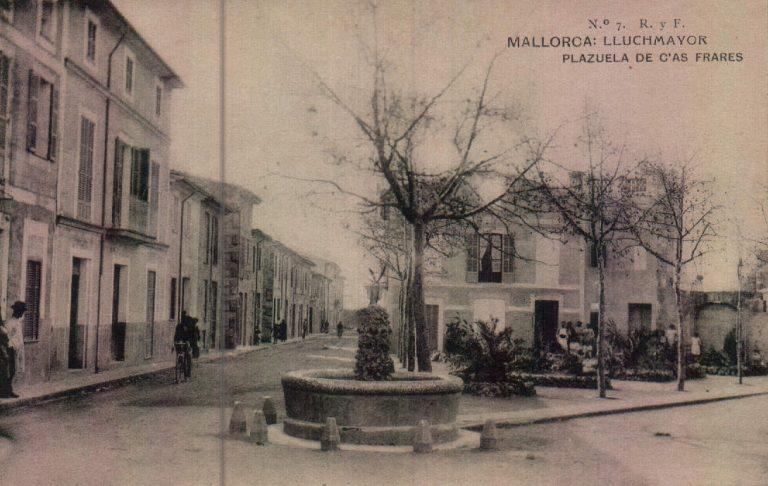 Plazuela de Cas Frares – 1917