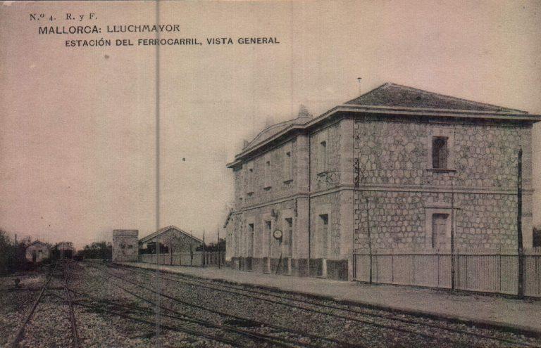 Estación ferrocarril – 1917