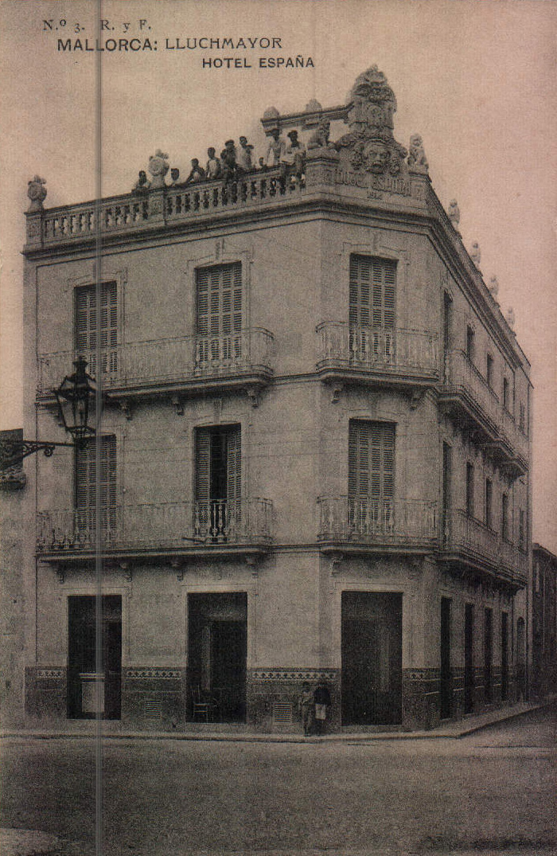 Hotel España – 1917