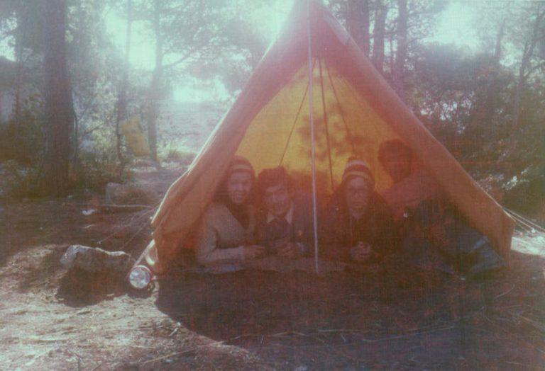 Camping en Cala Rajada – 1974