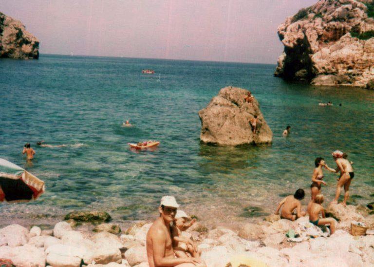 Cala Deià – 1980