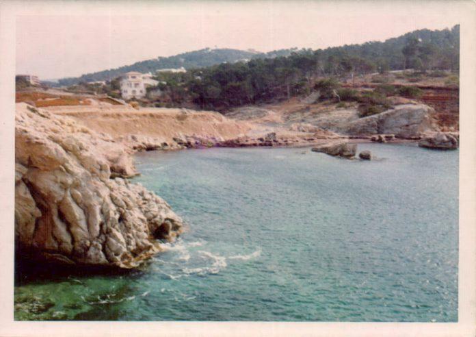 PAISAJE CALA RAJADA - 1974
