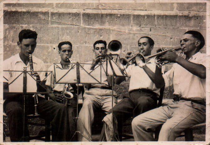 BANDA MUSICA - 1950