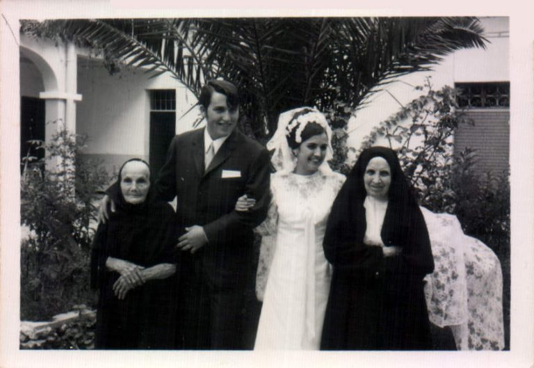 Boda en familia (Hospital de Felanitx) – 1969