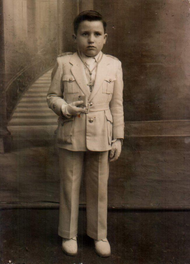 PRIMERA COMUNIO PEP - 1955