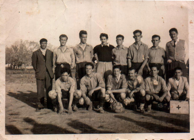 PARTIDO FUTBOL - 1952