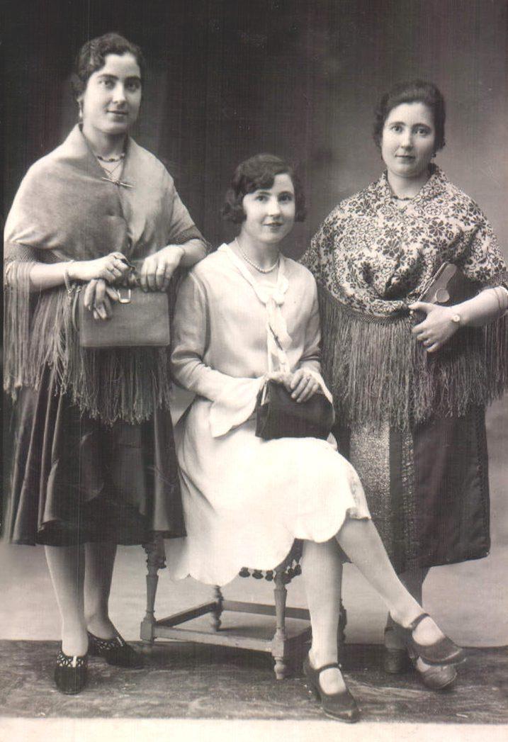 Retrat de tres germanes – 1929