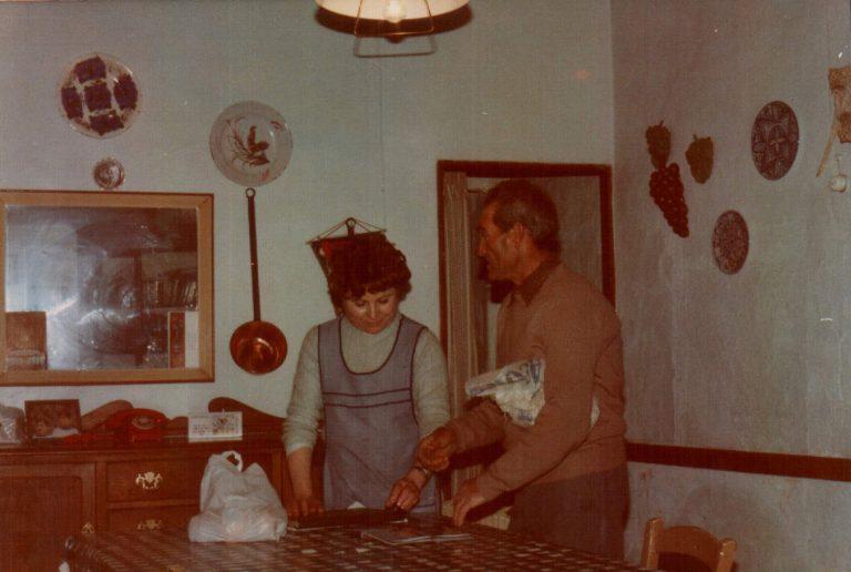 En casa Mateo Portells – 1978