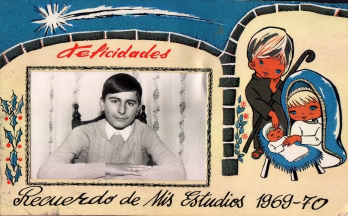 RECUERDO MIS ESTUDIOS (65 PESETAS) - 1966