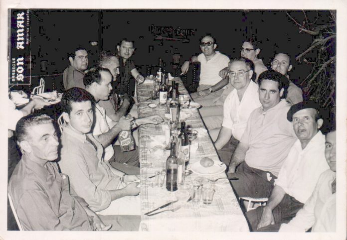 CENA AMIGOS - 1950