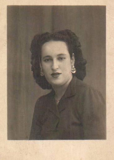 RETRATO MUJER - 1930
