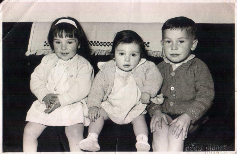 Tres dels meus germans – 1965