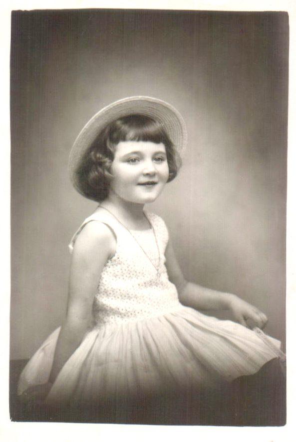 Retrato niña – 1961