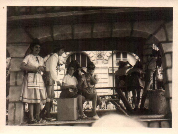 LOS BAVAROS - CARNAVAL - 1942
