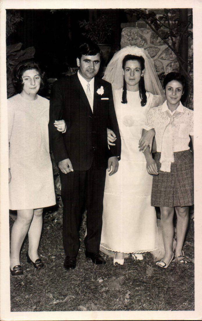 BODA DE PEDRO Y EMILIA - 1970