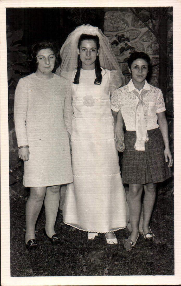 CON LA PRECIOSA NOVIA - 1970