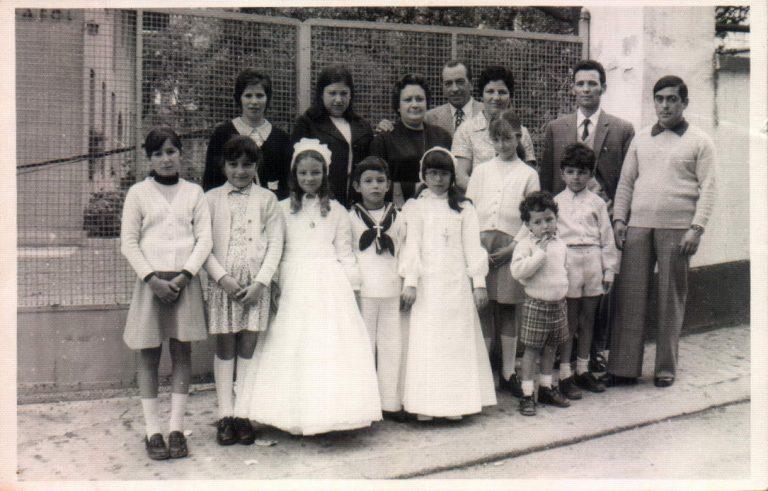 Comunión de mis sobrinos (Ceclavín, Cáceres) – 1974