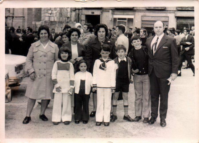 COMUNION DE MI SOBRINO JUAN MANUEL - 1977