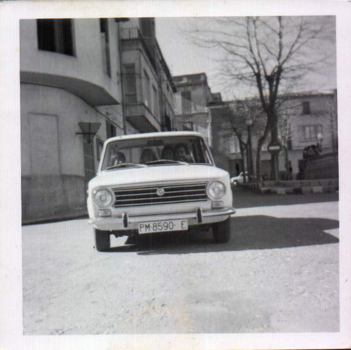 MURO - PLAÇA CONTE D´EMPURIES - 1974