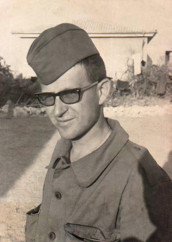 FOTO CAMPAMENTO MILITAR - 1966
