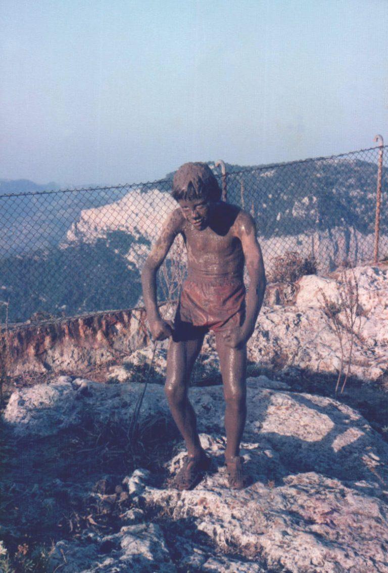 Niño embarrado (Castell d'Alaró) – 1978