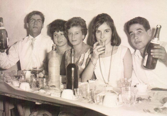 CENA AMIGOS - 1958