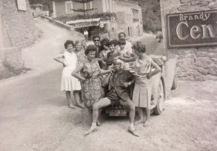 Grupo de amigos – 1959