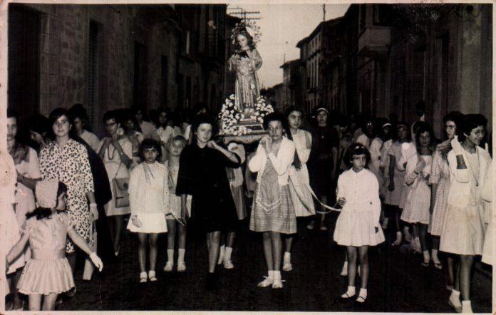 PROCESION SAN VICENTE DE PAUL - 1960