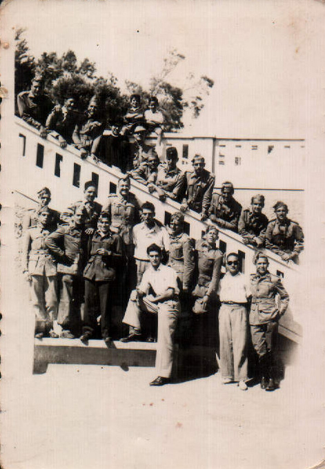 SOLDATS A AFRICA - 1950