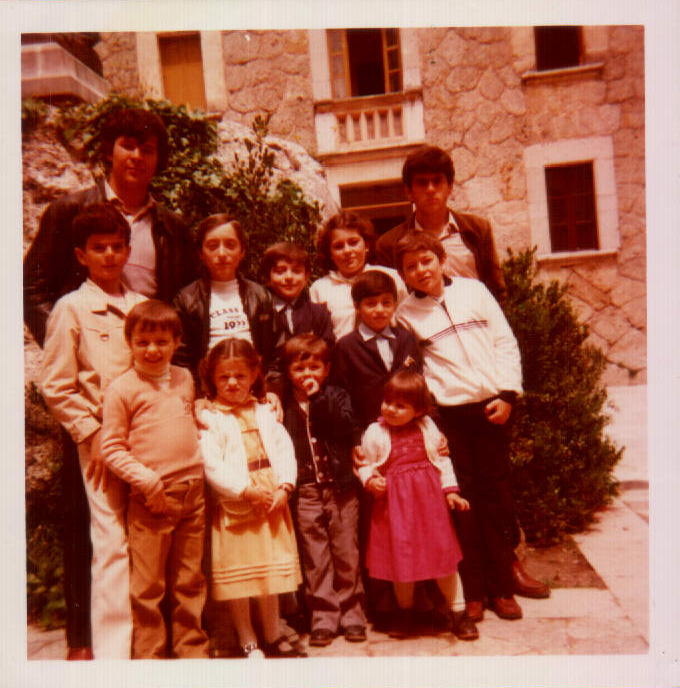 Família a Lluc – 1970