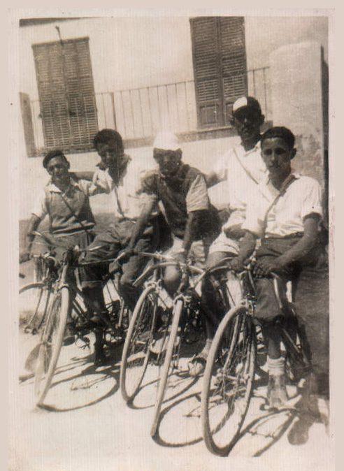 CICLISTES - 1940