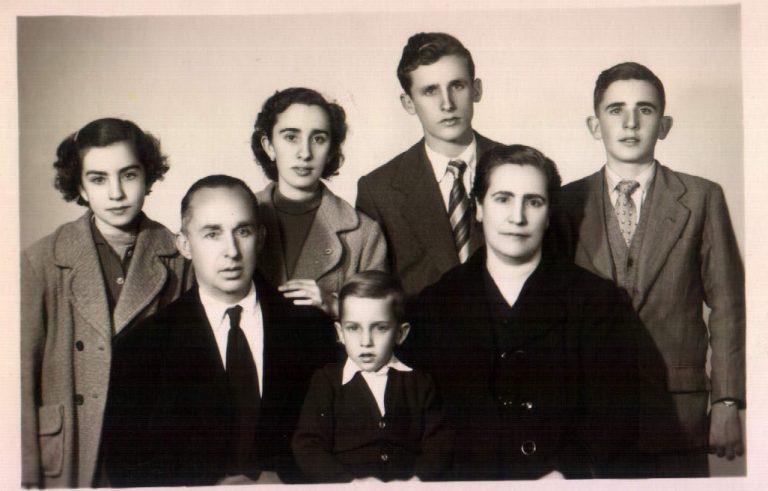 Foto familiar repadrins – 1956