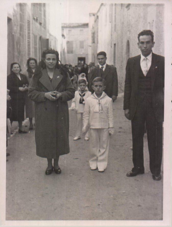 PRIMERA COMUNION - 1957