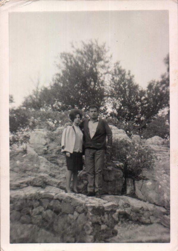 PAREJA NOVIOS - 1962