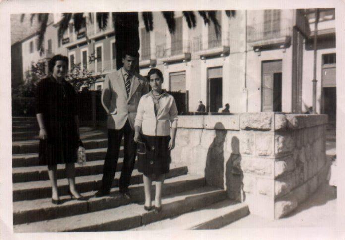 PAREJA NOVIOS - 1957