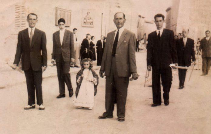 PROCESION CORPUS - 1954