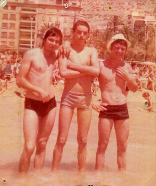 DIA DE PLAYA EN ALICANTE - 1965