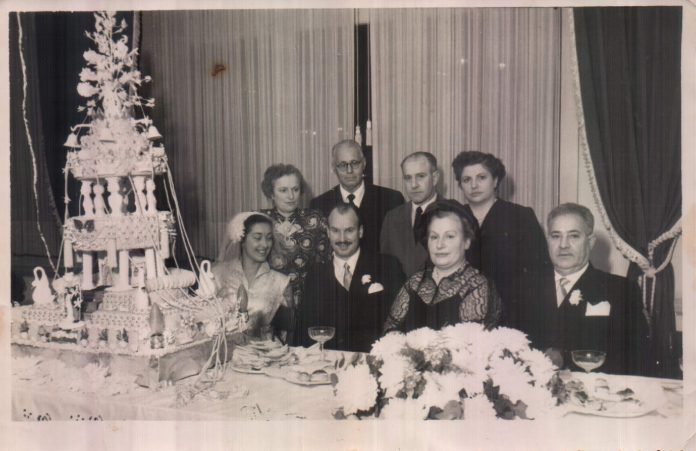 FAMILIA RECUERDO CASAMIENTO - 1953