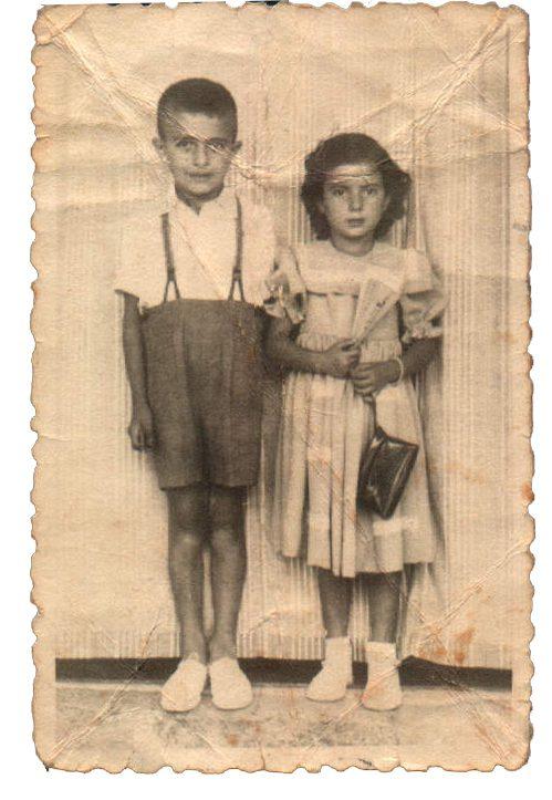 Dos niños (Caimari) – 1948