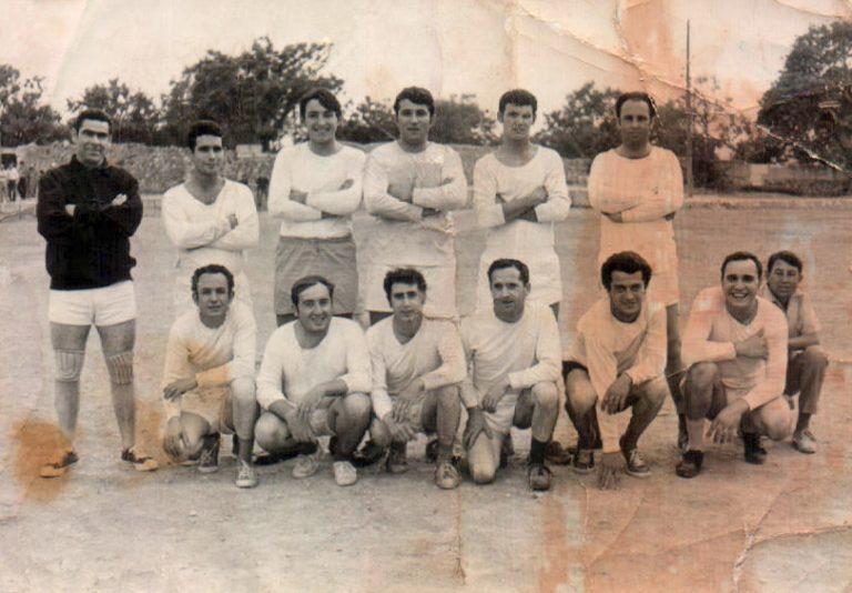 Equipo de fútbol – 1962