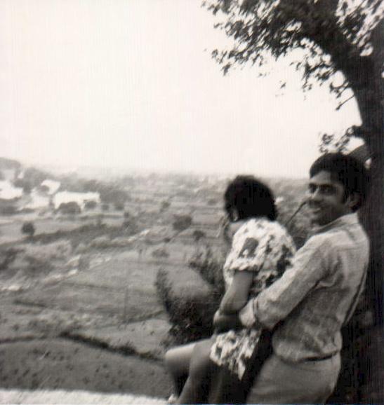 PAREJA ABRAZADA - 1970