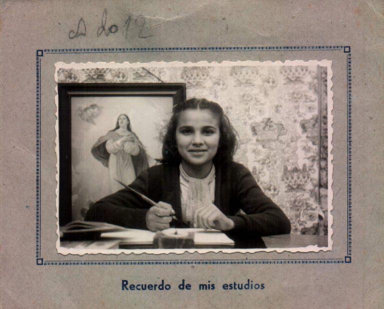 Foto escolar – 1946